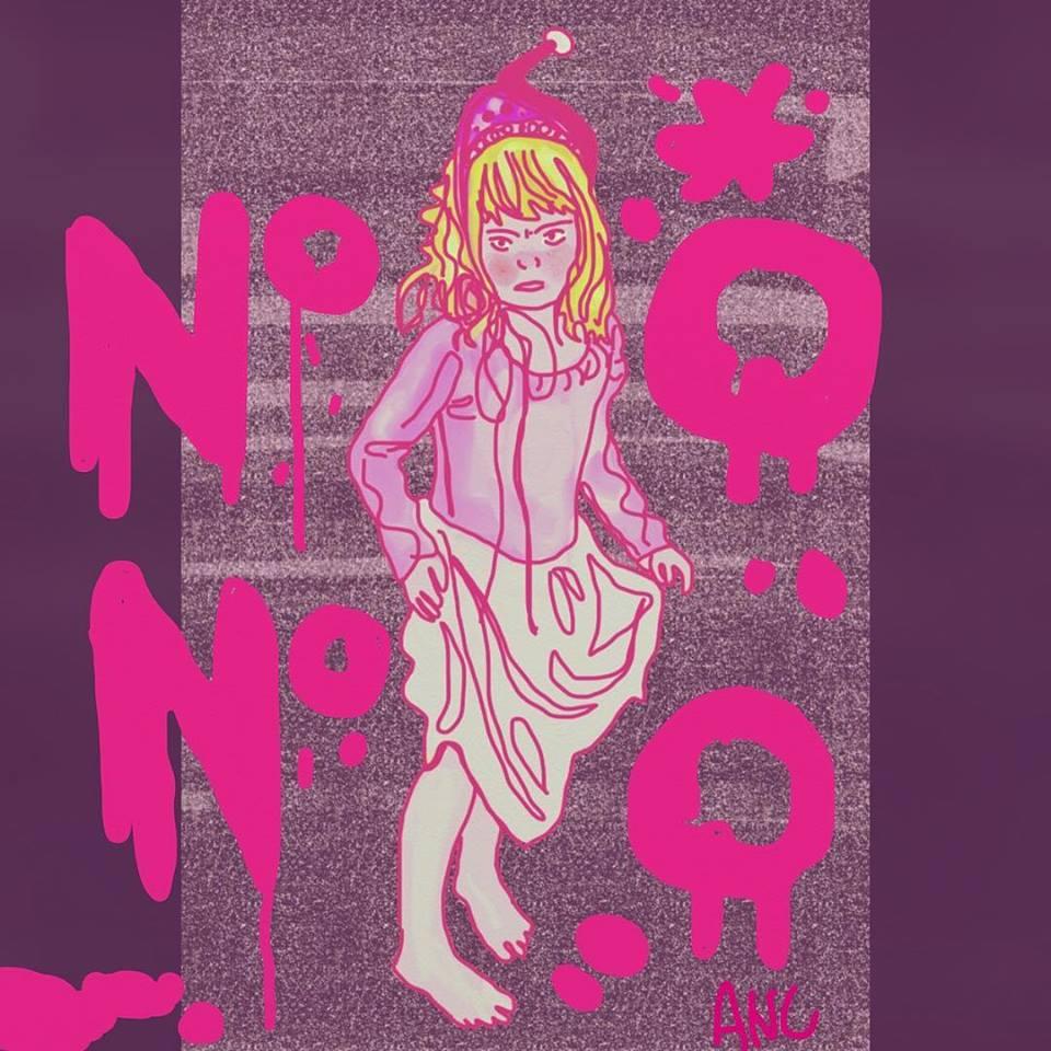 No no no - Amelia Naomi Art